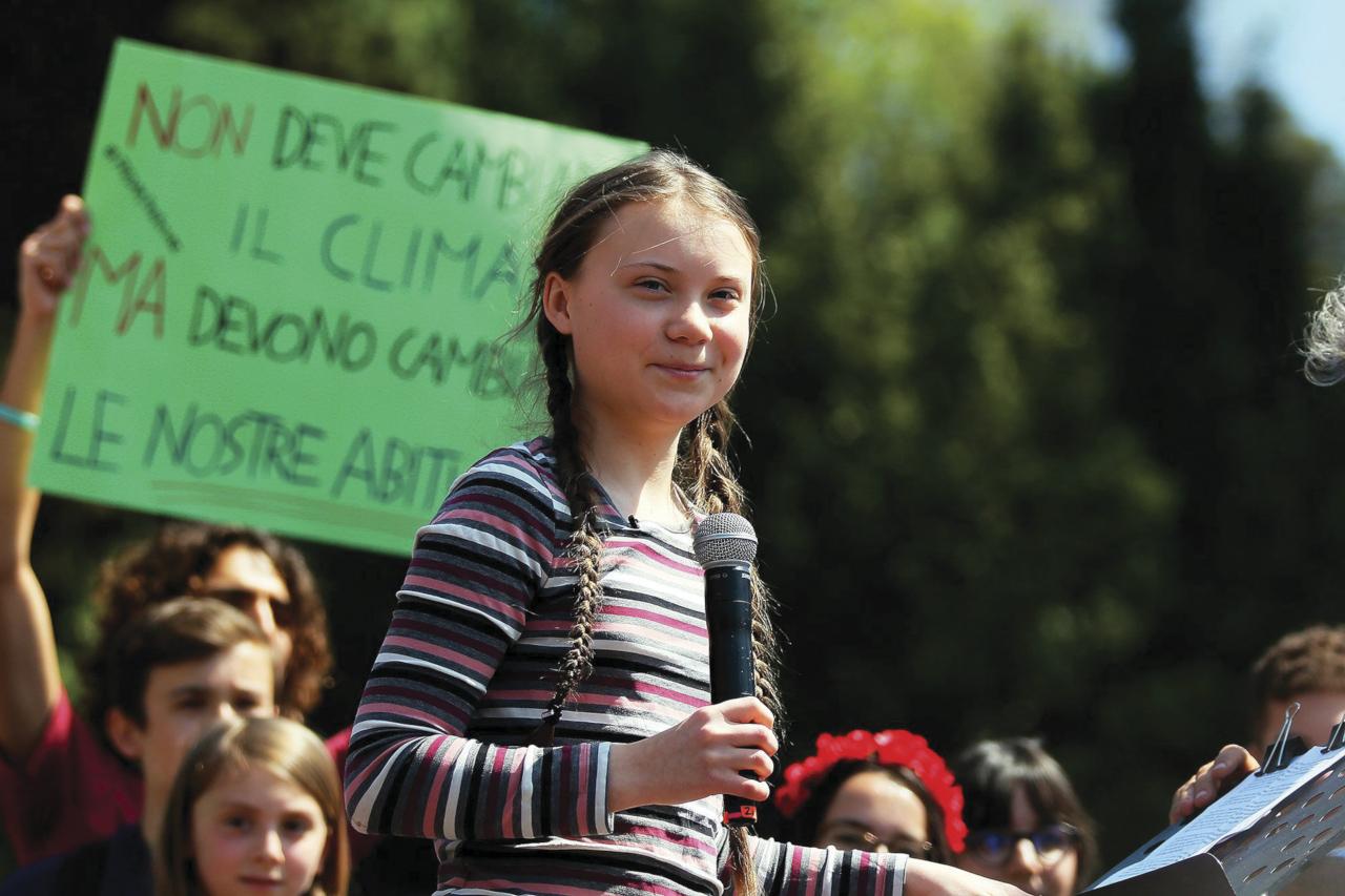 Jovens mostram sua força na mobilização global pelo clima 1