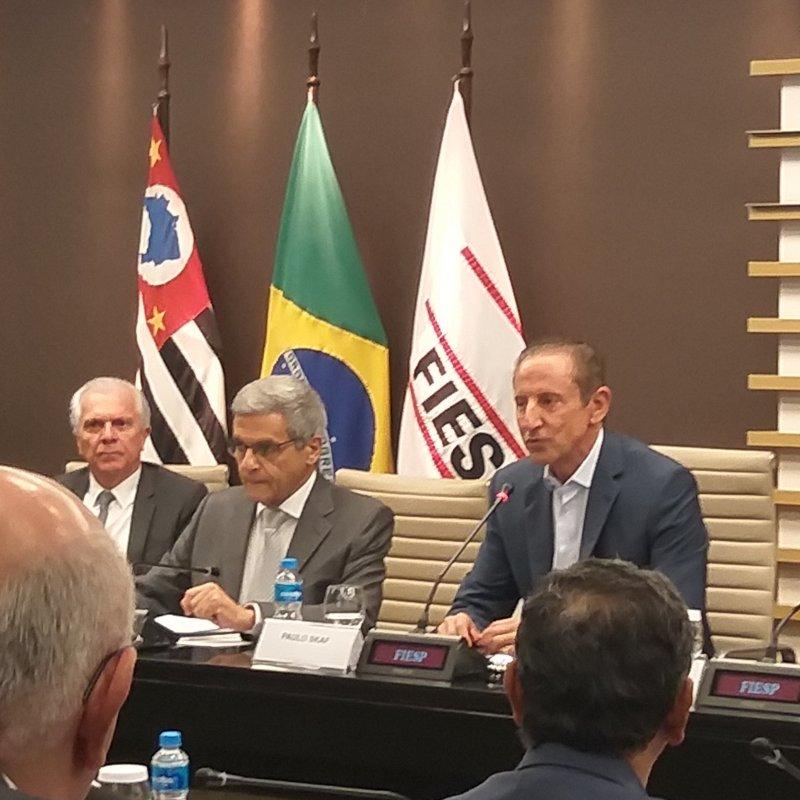 Presidente Paulo Skaf deu as boas-vindas aos novos conselheiros