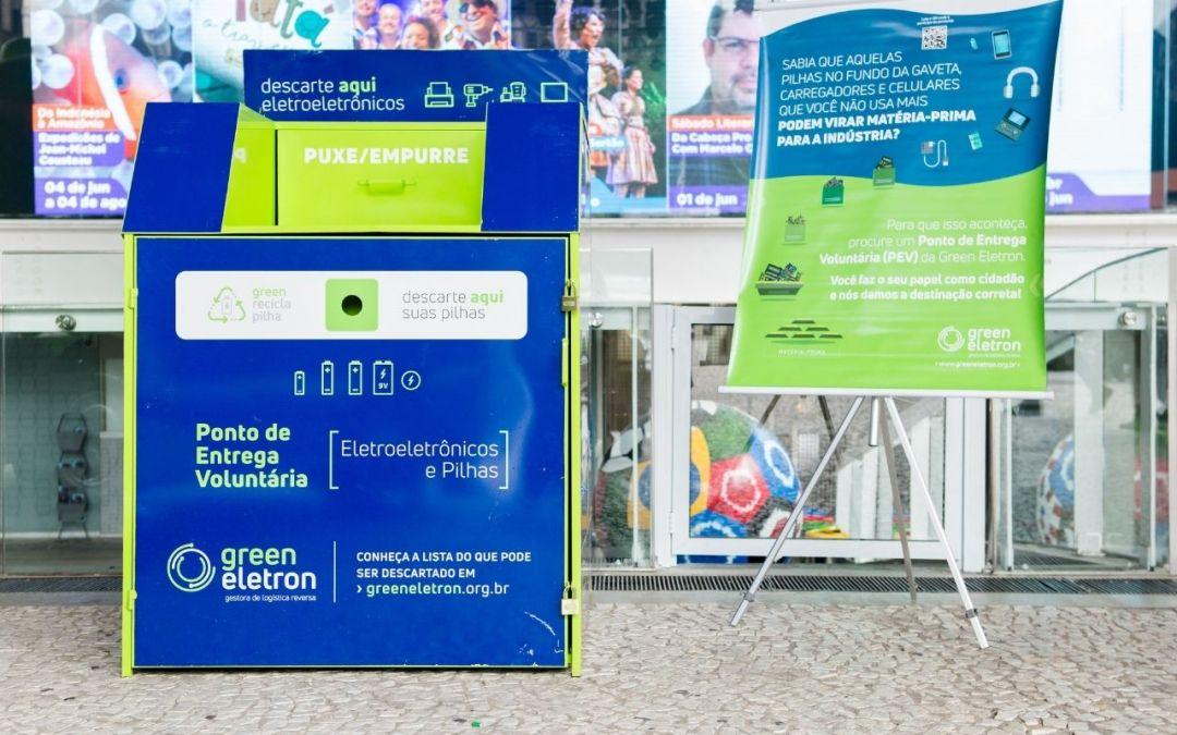 Lixo eletrônico conta com novos Pontos de Entrega Voluntária